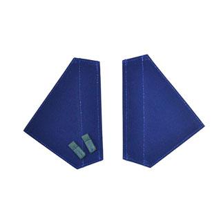 80  Door Handle Flaps Blue