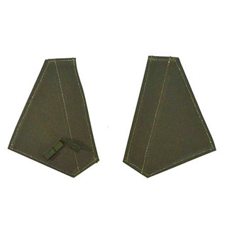 80  DOOR HANDLE FLAPS KHAKI