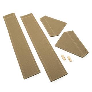 80 Full Set Hand & Door Flaps Sand