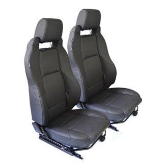 Mk-Ii Elite Seats - Black Vinyl