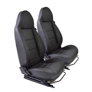 Modular Seat Pair Premium Black Vinyl