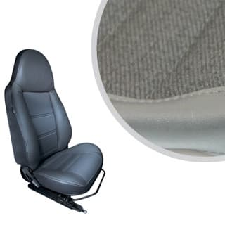 MODULAR SEATS DENIM TWILL VINYL (PAIR)