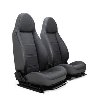 Modular Seats - Denim Twill Vinyl