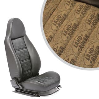MODULAR SEATS LR LOGO BROWN (PAIR)