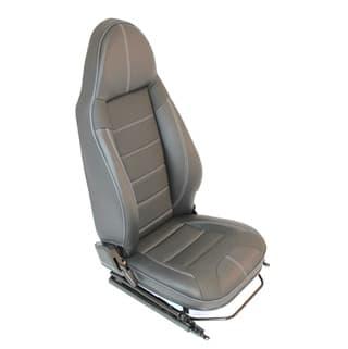 Premium Modular Seats -Xs Vinyl W. G4 Dimple Centre Panels (Pair)
