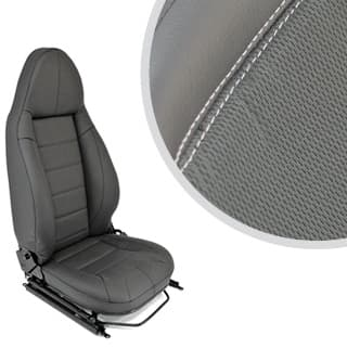 PREMIUM MODULAR SEATS - XS BLACK RACK (PAIR)