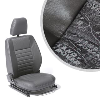 Seat Assembly Right-Hand Front Outer Defender Lr Logo Black