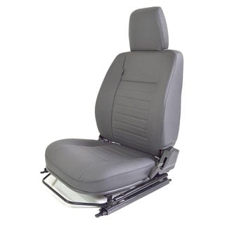 SEAT ASSEMBLY LEFT-HAND FRONT OUTER DEFENDER GREY LEATHER