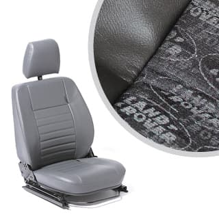 Seat Assembly Left-Hand Front Outer Defender Lr Logo Black