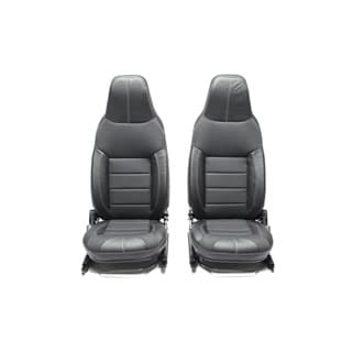 Premuim Front Seat Set Puma With Heat in Xs Black Rack