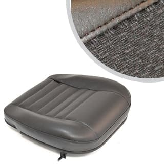 SEAT BASE FRONT OUTER DEFENDER BLACK SPAN/MONDUS