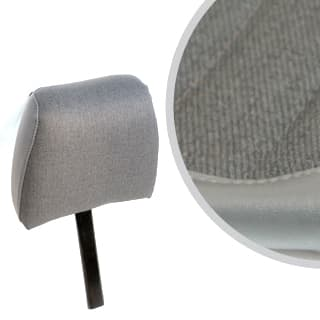 Front Seat Headrest Defender Denim Twill Vinyl