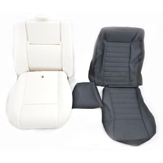 RETRIM KIT FOR SINGLE DEFENDER FRONT SEAT NAS CAR DENIM VINYL