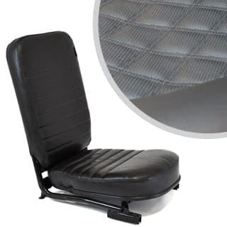 Front Center Seat - No Headrest - Diamond Black Xs