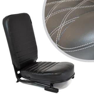 Front Center Seat - No Hearest - Diamond White Xs