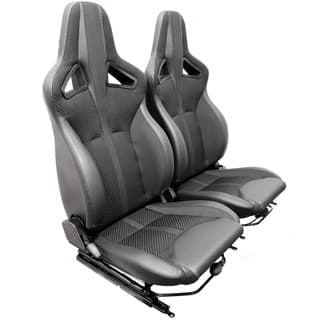 Elite Sports Seats - Black Span Mondus Cloth