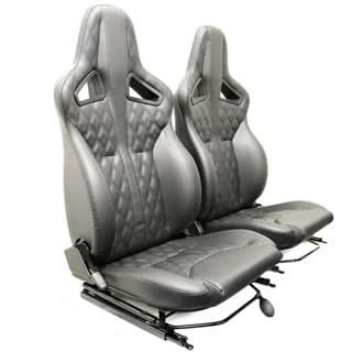 Elite Sports Seats - Diamond Black Xs Vinyl