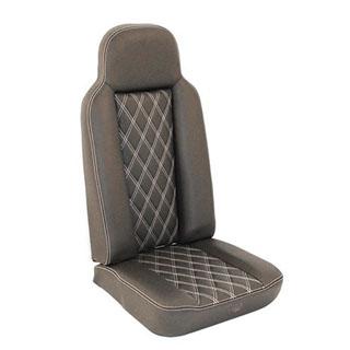 2nd Row High Back Seat - Diamond White Xs
