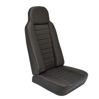 2nd Row High Back Seat - Xs Black Rack