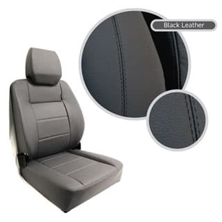 EXTREME MKII HIGH BACK SEAT ASSEMBLY - BLACK LEATHER