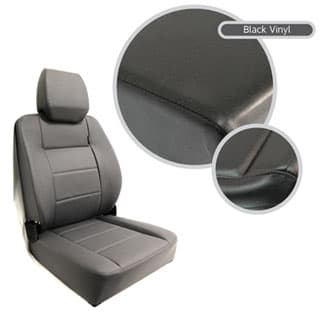Extreme Mkii High Back Seat Assembly - Black Vinyl