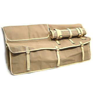 Canvas Blkhead Storage Bag With Tool Roll-Sand