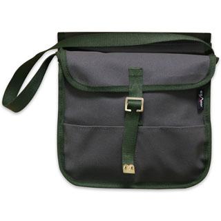 Canvas Grab Bag Satchel -Khaki