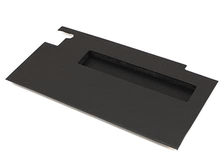 DOOR TRIM PANEL LEFT-HAND FRONT WITH POCKET FOR SERIES -BLACK VINYL