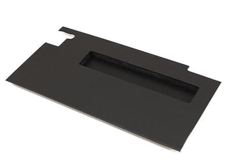 Door Trim Panel Left-Hand Front With Pocket For Series -Black Vinyl