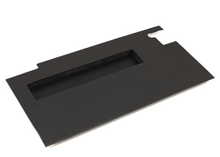 DOOR TRIM PANEL RIGHT-HAND FRONT WITH POCKET FOR SERIES -BLACK VINYL