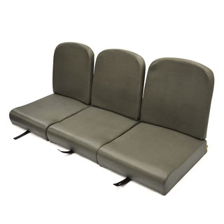"Series I 86"" Style Back Full Front Seat Set Check Vinyl"