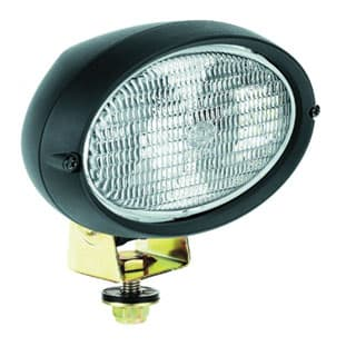 Hella Oval 100 Halogen Double Beam Work Lamp Close Range Versions
