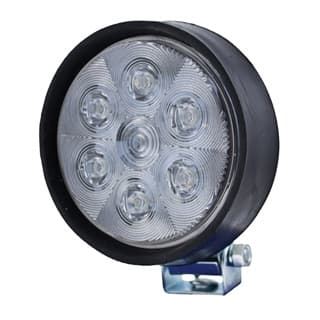 Worklamp Optilux By Hella 5 Round Rubber LED Mv