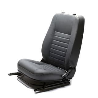 Seat Assy LHF Def Puma Grey Vinyl Heated