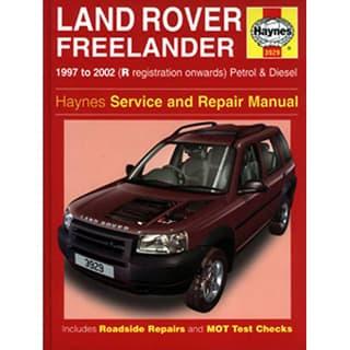HAYNES MANUAL  FREELANDER 1997-2002 NON-V6