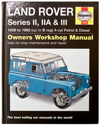Haynes Manual Series II, IIA & III 2.25L Petrol & Diesel