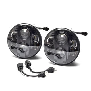 LED Luxeon Z Headlamps Pair