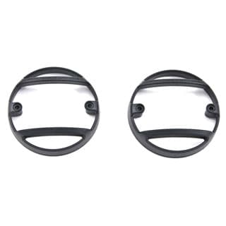KBX LAMP GUARD PAIR DEFENDER SATIN BLACK
