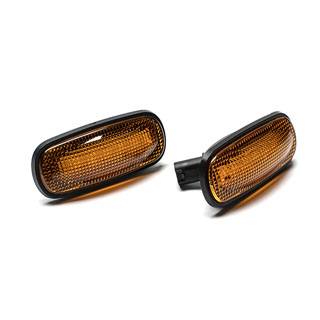 Lamp Assembly (Pair) Amber LED Side Repeater Defender, Discovery II &  Freelander -Proline