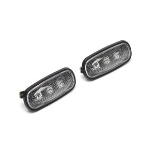 Lamp Assembly (Pair) Clear LED Side Repeater Defender, Discovery II &  Freelander -Proline