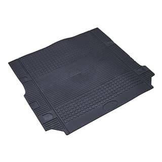 LOADSPACE MAT 1/2 LENGTH LR3 BLACK RUBBER