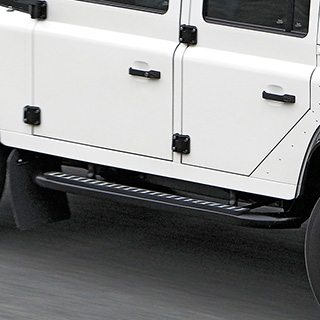 TUBULAR SIDE RUNNER SET DEFENDER 110 - GENUINE