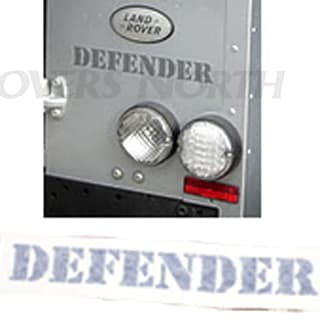 "DECAL ""DEFENDER"" REAR BRUNEL"