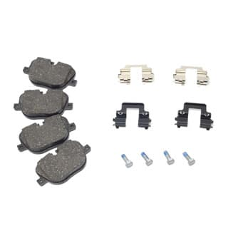 BRAKE PAD SET REAR AXLE 5.0 SUPERCHARGED 2010-2012 - GENUINE