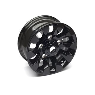 "Sawtooth Alloy Wheel in Black 16"" X 7"""