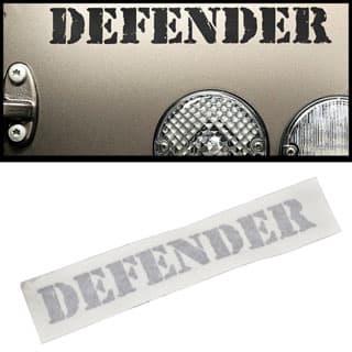 "Decal ""Defender"" Rear Titan"