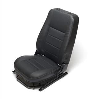 SEAT ASSY LHF HEATED DEFENDER BLACK C/L