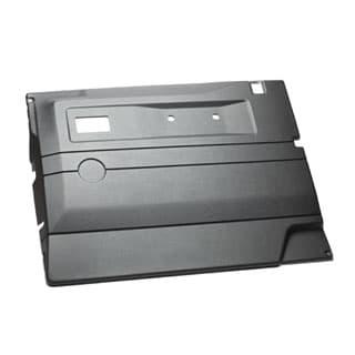 Interior Trim RHF Door Defender Black w/Pwr W
