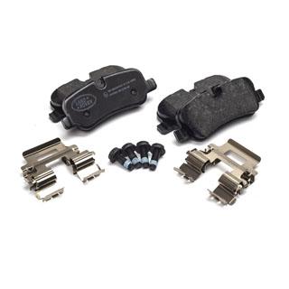 Brake Pad Set w/Spring  Rear Axle