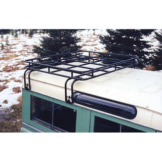 BROWNCHURCH ROOF RACK D90 HALF LENGTH